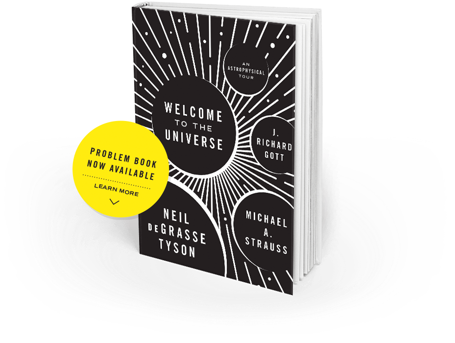 Book: Welcome to the universe